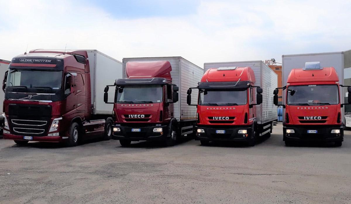 Silcri - Servizi di Trasporto - Camion a Volpiano - Torino